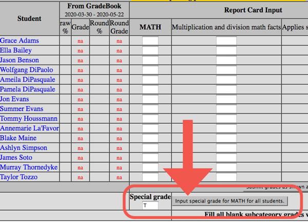 special grade1