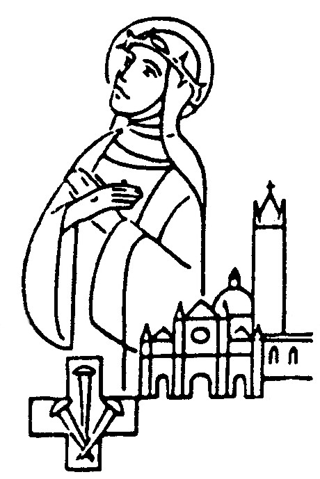 Catholic Saints Coloring Page Information